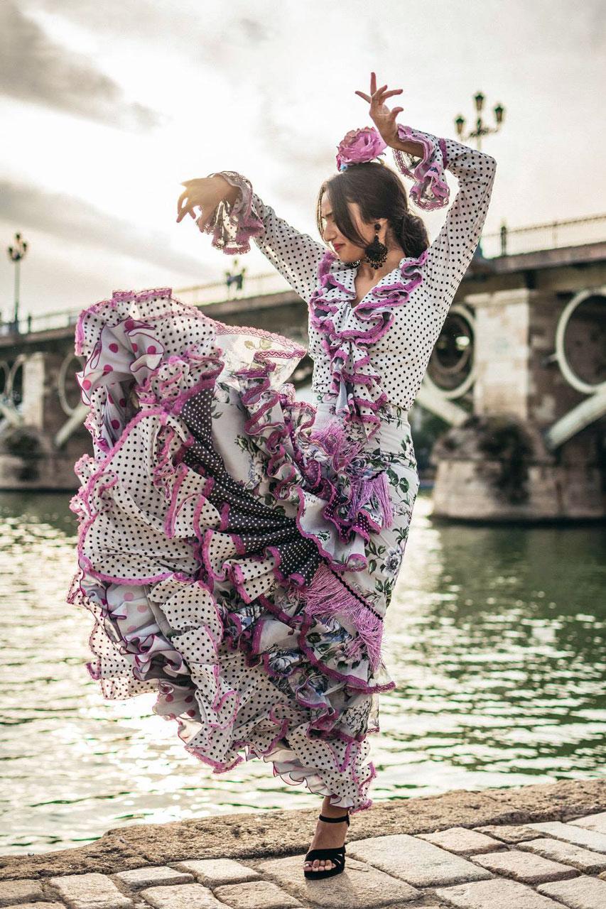 Traje Juana ● Bailaora Aitana de Los Reyes