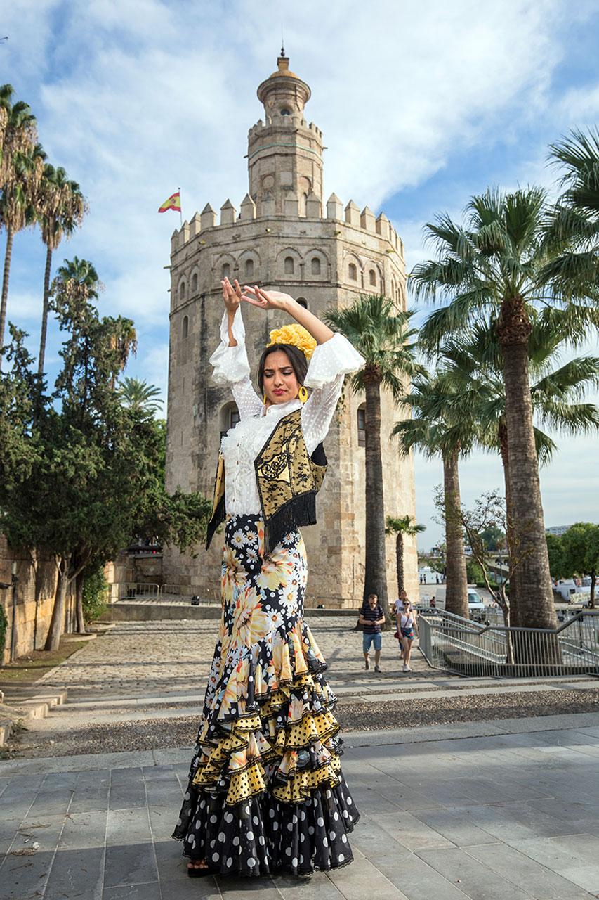 Traje Soraya ● Bailaora Aitana de Los Reyes